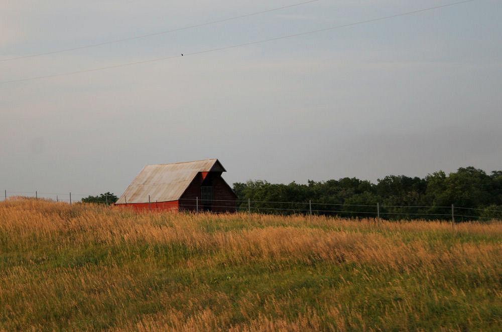 Wood barn, central Kansas