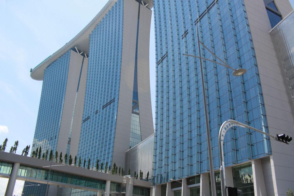 Casino complex, new in 2010, Singapore