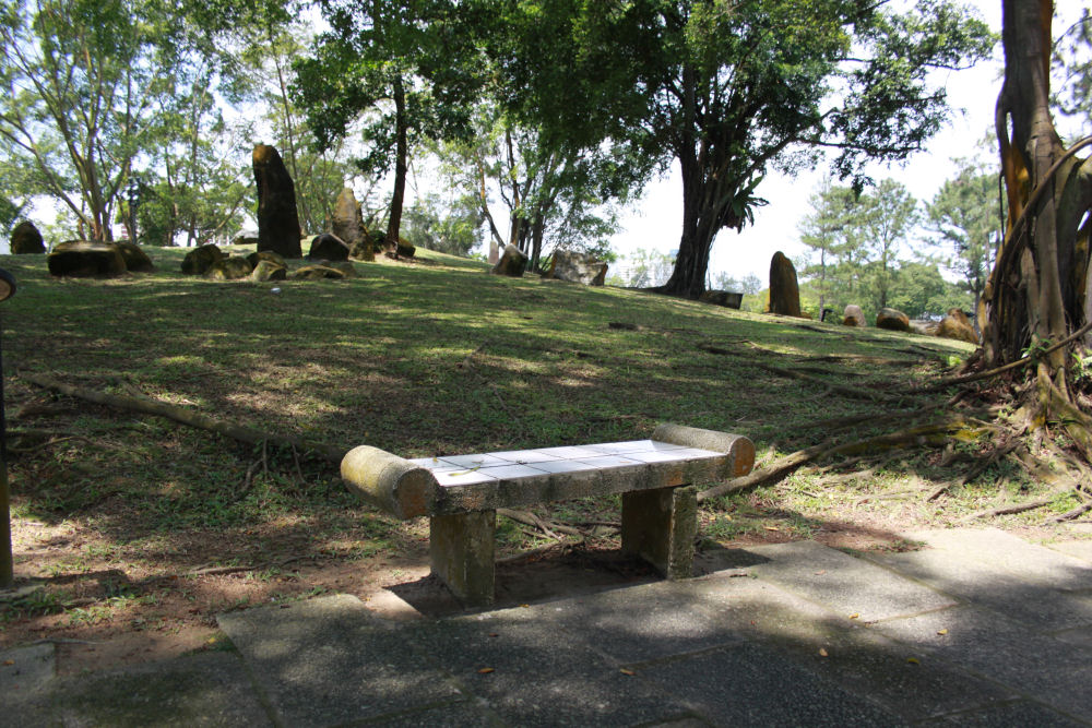 Chinese Gardens bench