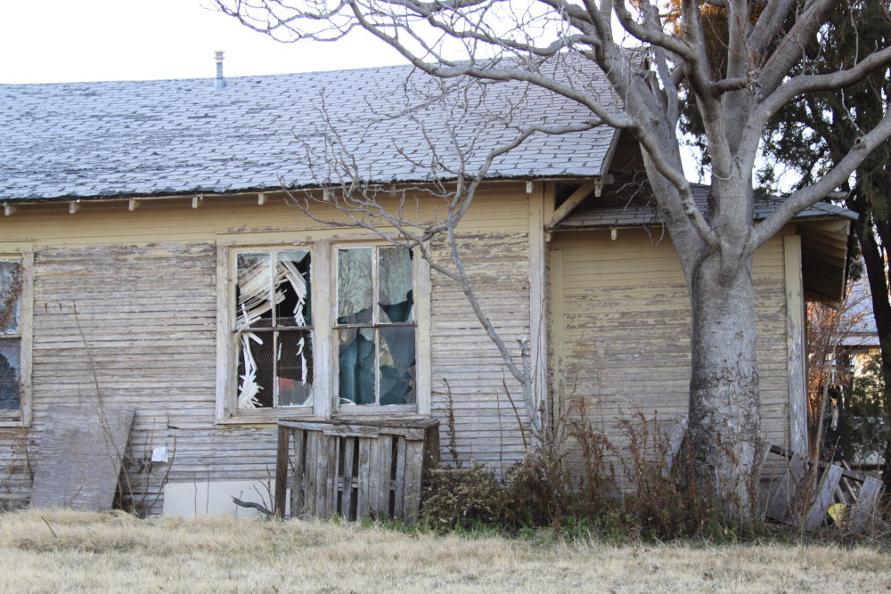 Childress, Texas, huge tornado-risk zone