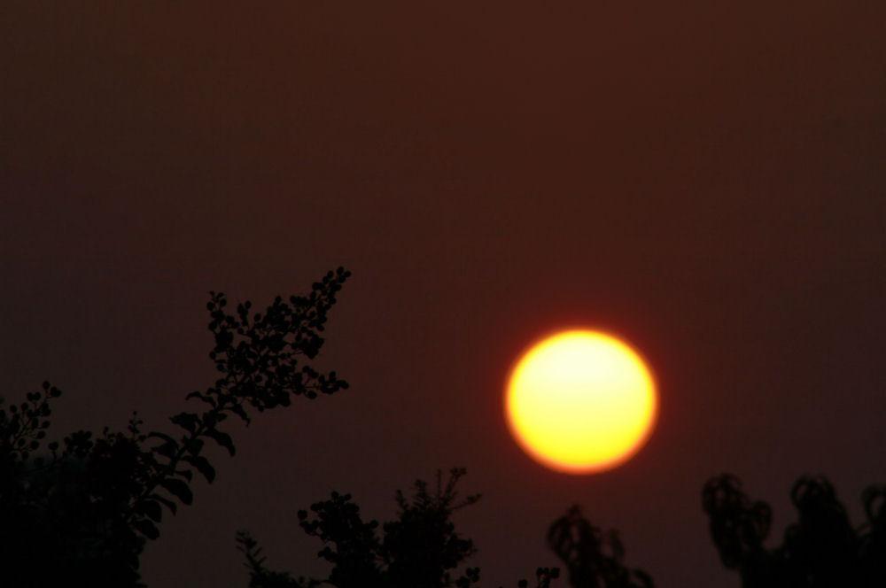 Dallas sunrise, August 31, 2007