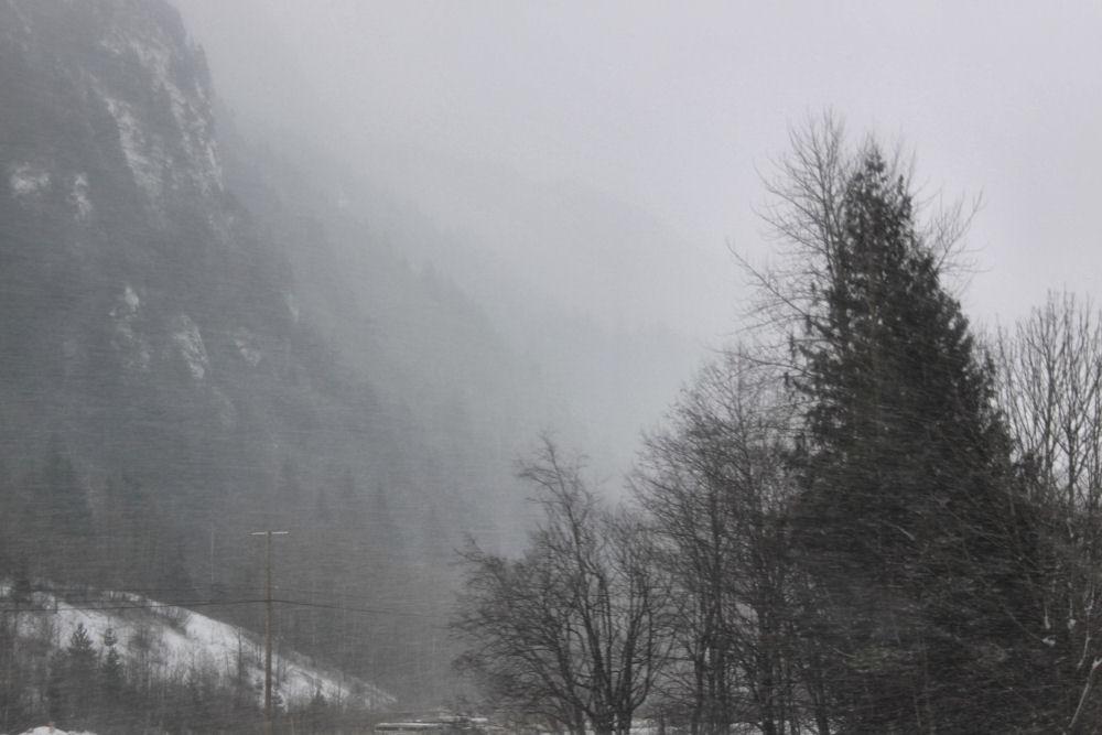 Hope BC snow storm Dec. 30th, 2009