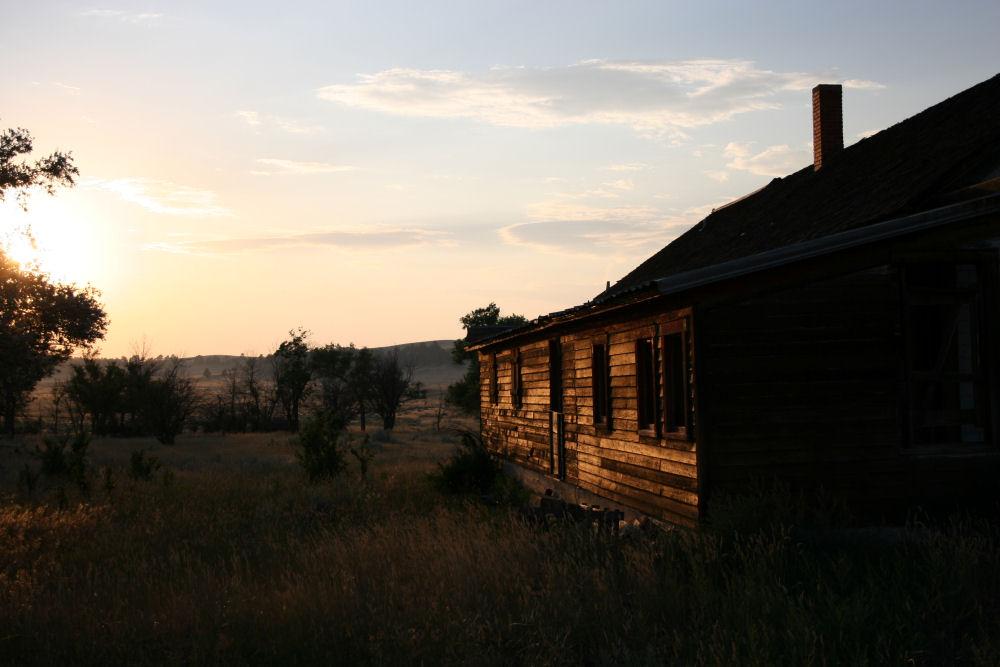 Abandoned homestead, Nebraska