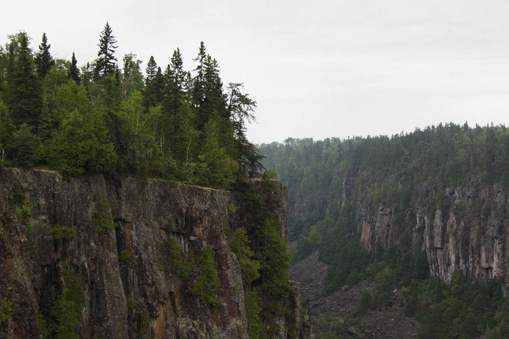 Ouimet Canyon, Ontario Canada