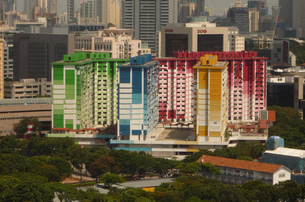 Singapore apartment buildings