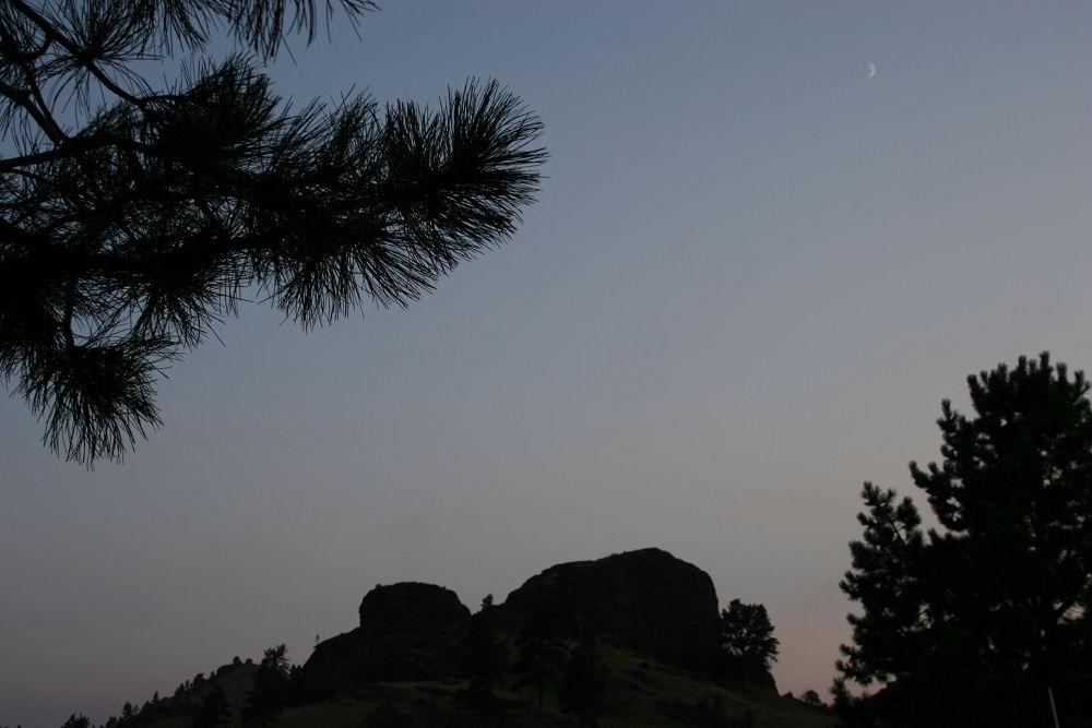 Wyoming crescent moon
