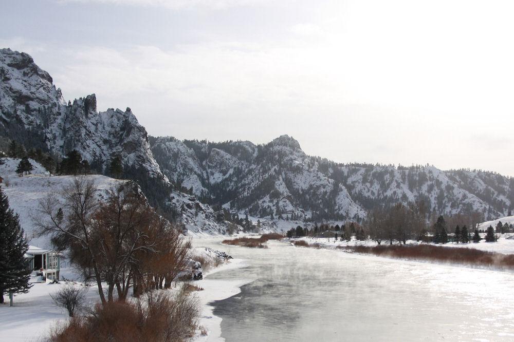 Foothills near Power, Montana