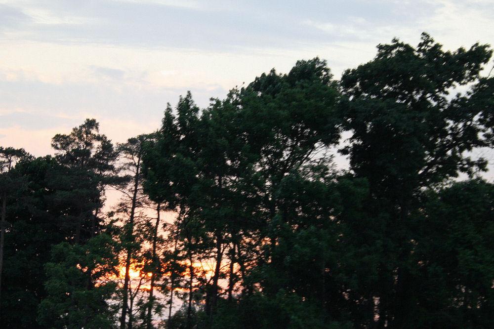 Summer sunset, Niagara Falls, NY